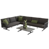 thumb-Hoek Loungeset - Sunray - Aluminium - Taste by 4SO-2