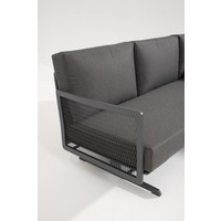 thumb-Hoek Loungeset - Sunray - Aluminium - Taste by 4SO-4