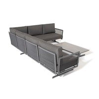 thumb-Hoek Loungeset - Sunray - Aluminium - Taste by 4SO-3