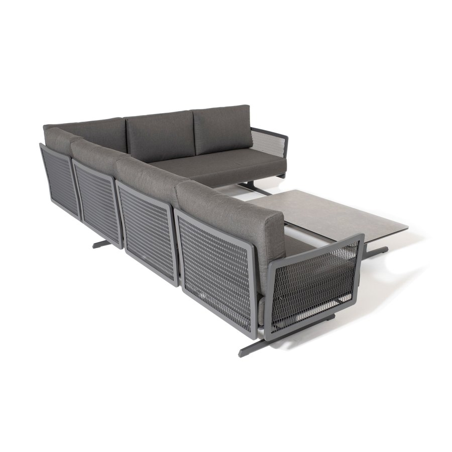 Hoek Loungeset - Sunray - Aluminium - Taste by 4SO-3