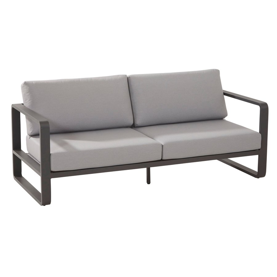 Stoel-Bank Loungeset - Omega - 4 Zits - Aluminium - Taste by 4SO-5