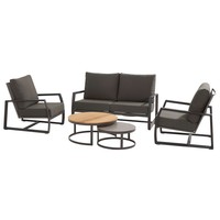 thumb-Stoel-Bank Loungeset - New Mauritius - 4 Zits - Teak/Keramiek - Taste by 4SO-2