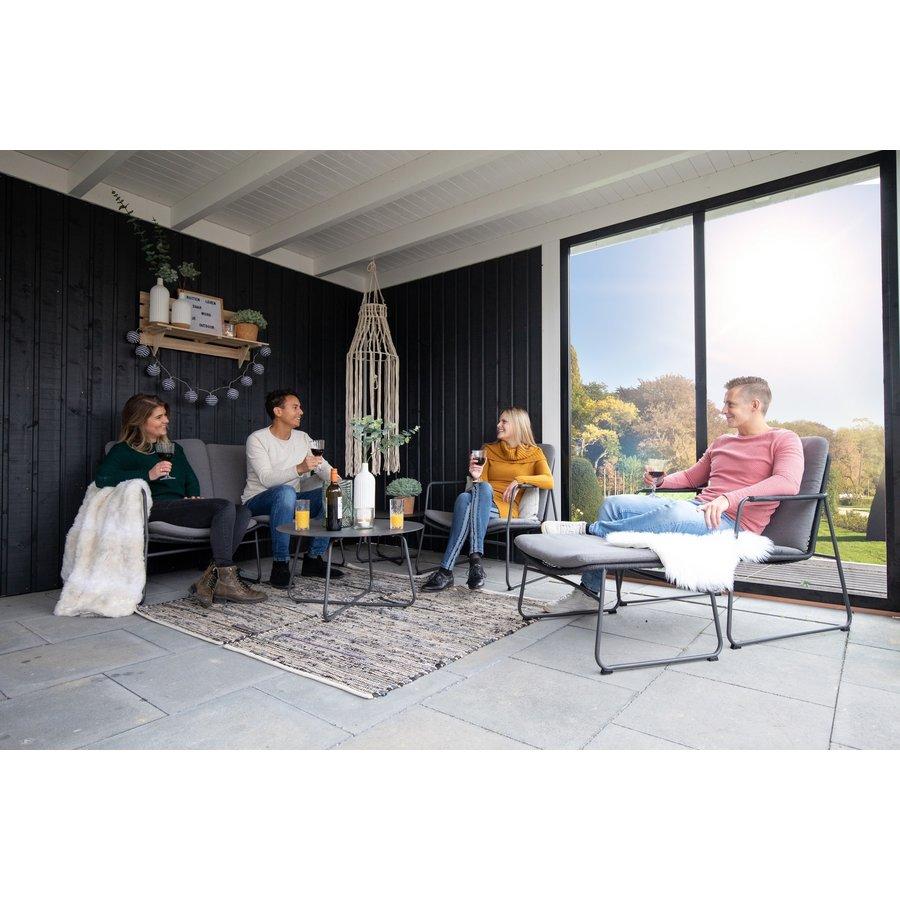 Lounge Tuinbank - Elba - 2 Persoons - Rope - Taste by 4SO-3