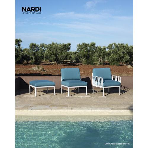 Nardi Komodo Loungeset - Avocado Groen / Wit - Sunbrella - Modulaire - Nardi