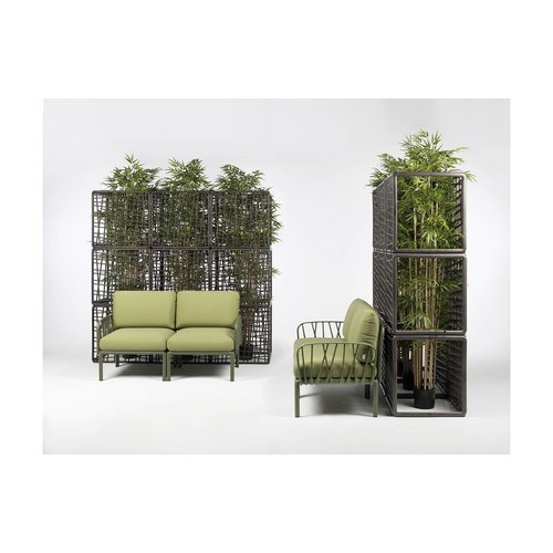 Nardi Komodo Loungeset - Jungle Groen  / Antraciet - Sunbrella - Modulaire - Nardi