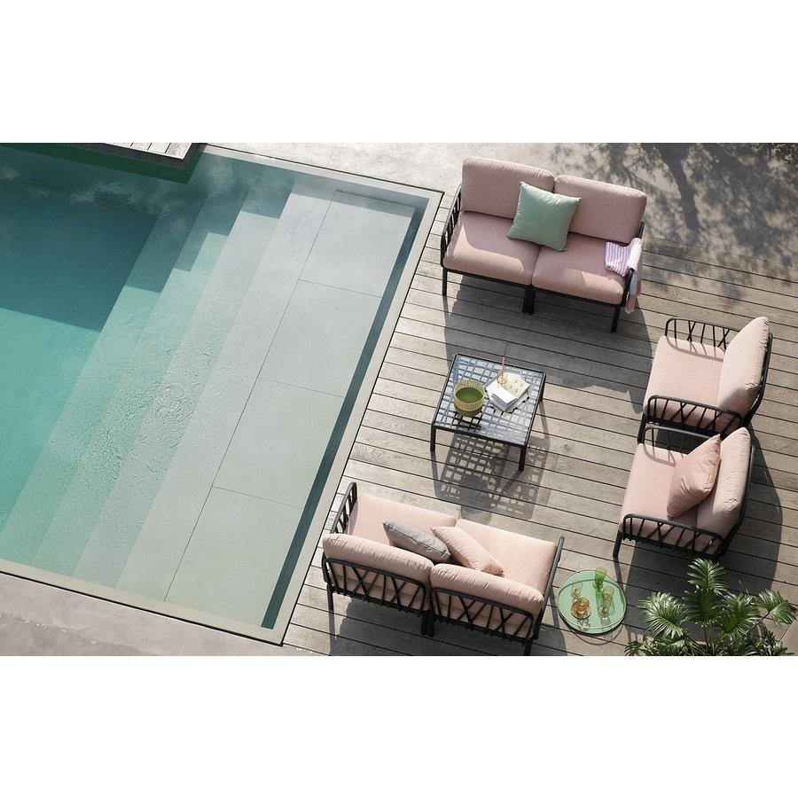 Komodo Loungeset - Beige / Agave Groen - Sunbrella - Modulaire - Nardi-5