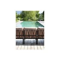 thumb-Komodo Loungeset - IJsblauw  / Taupe - Sunbrella - Modulaire - Nardi-7
