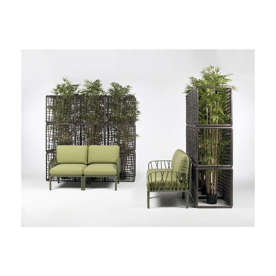 Komodo Loungeset - Jungle Groen  / Taupe - Sunbrella - Modulaire - Nardi-6