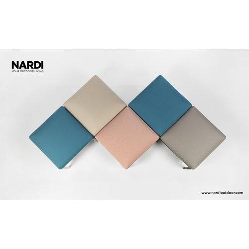 Nardi Komodo Loungeset - Jungle Groen / Wit - Sunbrella - Modulaire - Nardi