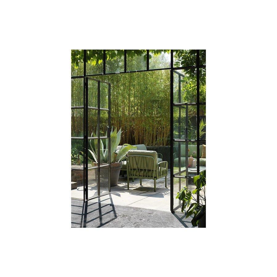 Komodo Loungeset - Jungle Groen / Wit - Sunbrella - Modulaire - Nardi-3