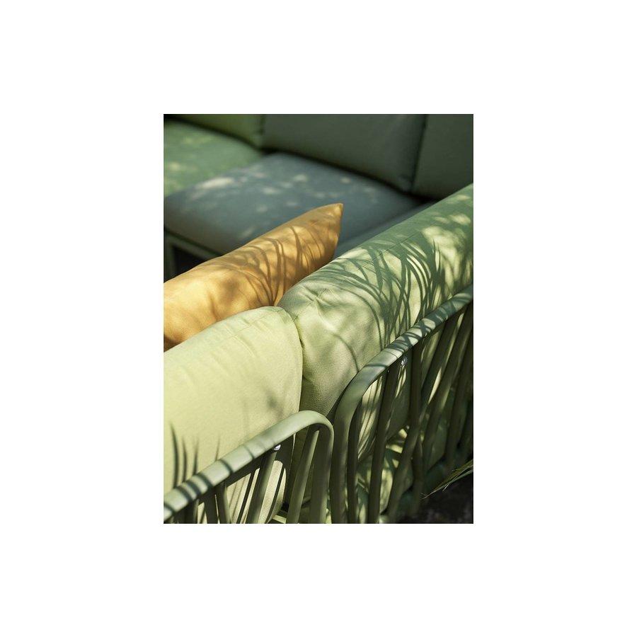 Komodo Loungeset - Jungle Groen / Wit - Sunbrella - Modulaire - Nardi-4