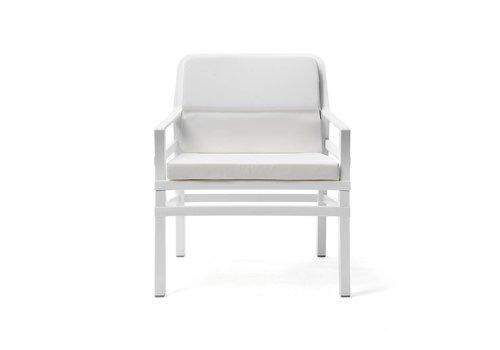 Lounge Tuinstoel - Aria Fit - Bianco - Wit - Nardi