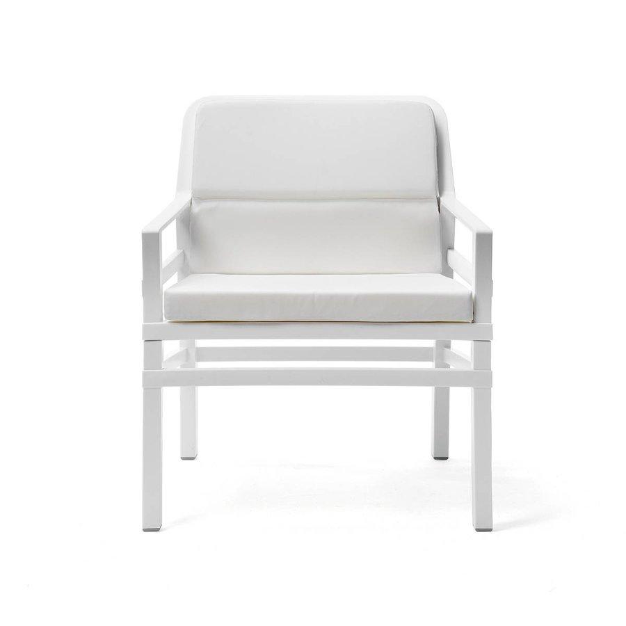 Lounge Tuinstoel - Aria Fit - Bianco - Wit - Nardi-1