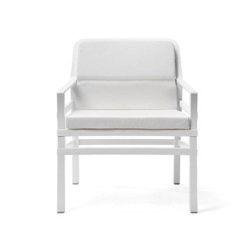 Nardi Lounge Tuinstoel - Aria Fit - Bianco - Wit - Nardi