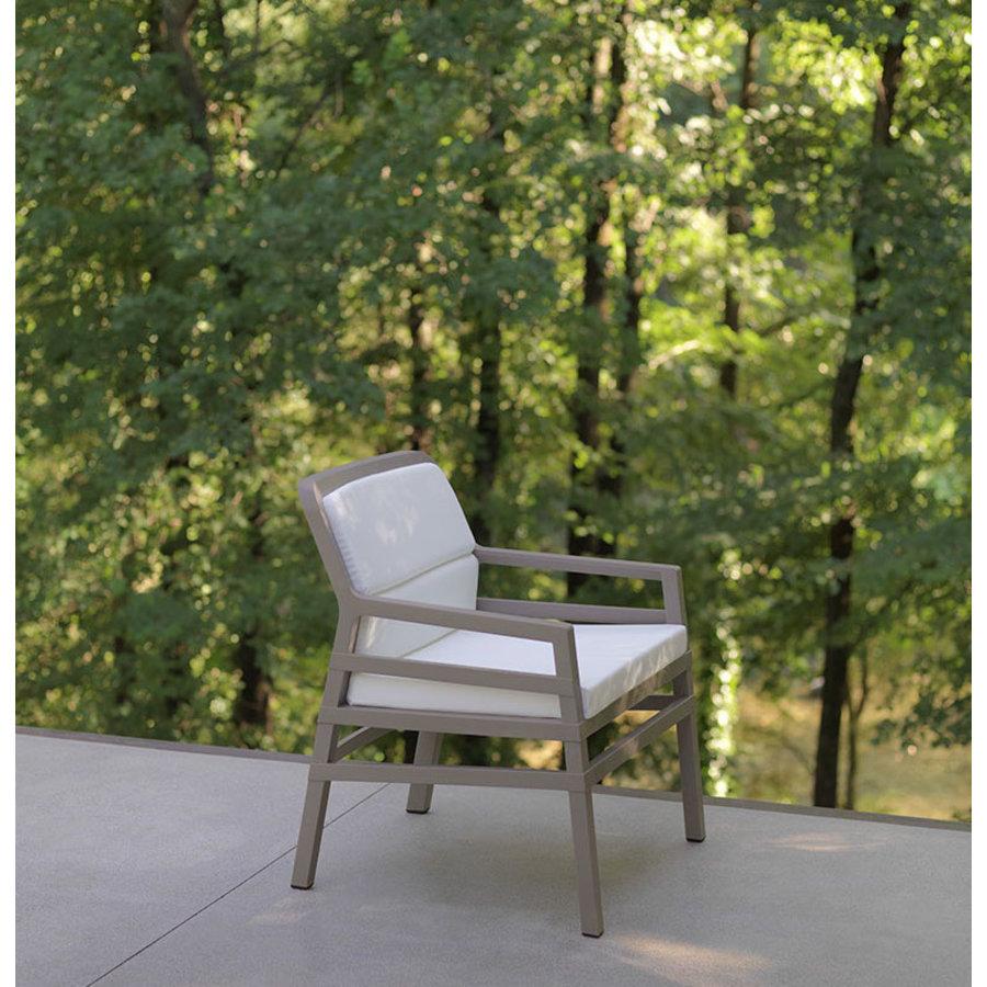 Lounge Tuinstoel - Aria Fit - Bianco - Koffie Bruin - Nardi-5