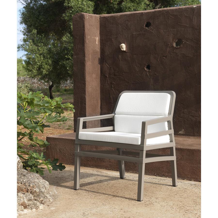 Lounge Tuinstoel - Aria Fit - Bianco - Koffie Bruin - Nardi-4