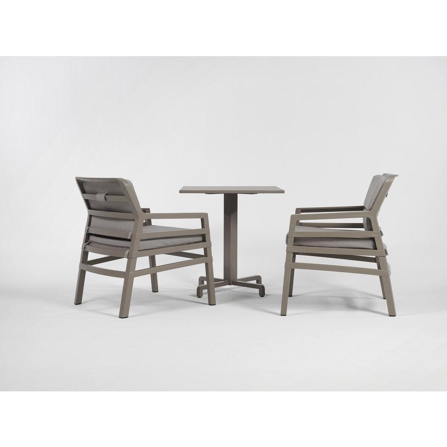 Lounge Tuinstoel - Aria Fit - Bianco - Koffie Bruin - Nardi-7