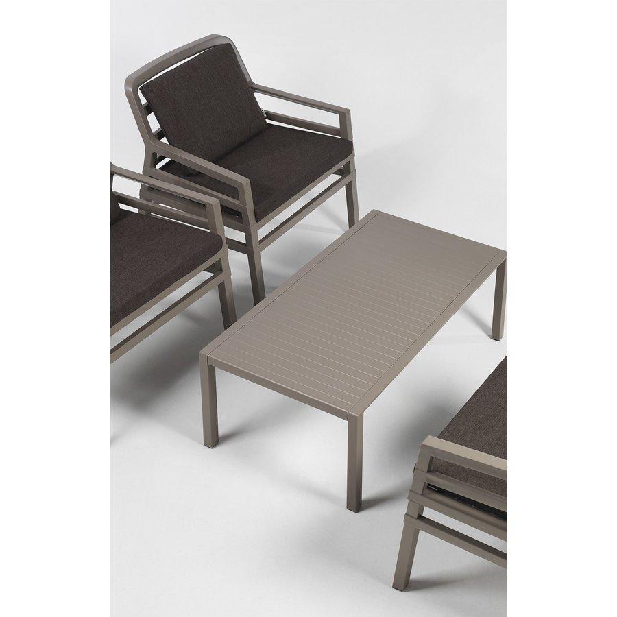 Lounge Tuinstoel - Aria Fit - Bianco - Koffie Bruin - Nardi-9