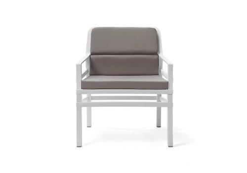 Lounge Tuinstoel - Aria Fit - Bianco - Grijs - Nardi