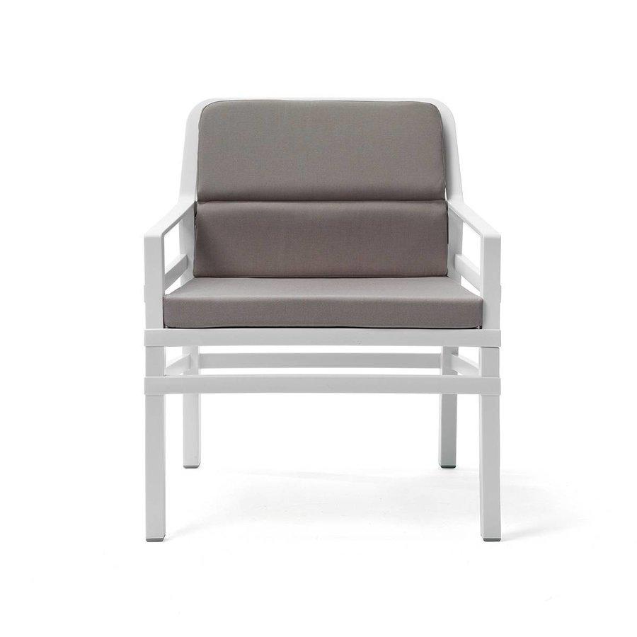 Lounge Tuinstoel - Aria Fit - Bianco - Grijs - Nardi-1