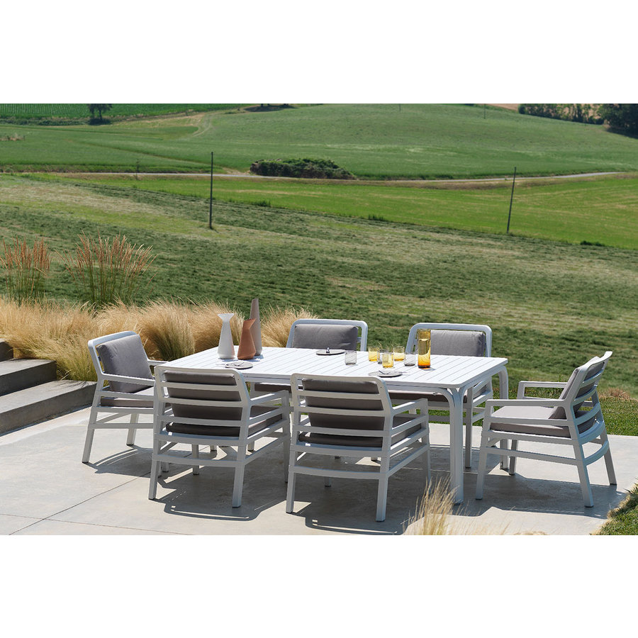 Lounge Tuinstoel - Aria Fit - Bianco - Grijs - Sunbrella - Nardi-3