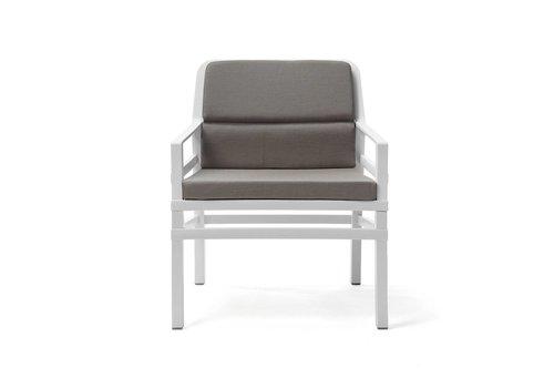 Lounge Tuinstoel - Aria Fit - Bianco - Grijs - Sunbrella - Nardi