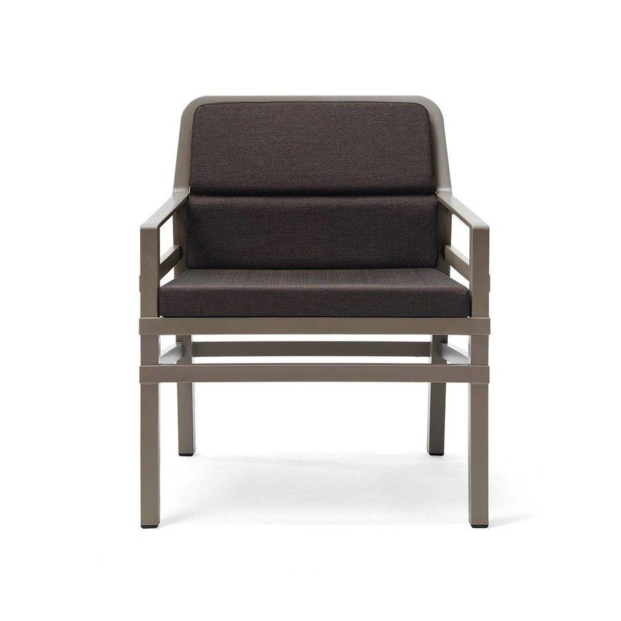 Lounge Tuinstoel - Aria Fit - Tortora - Koffie Bruin - Nardi-2