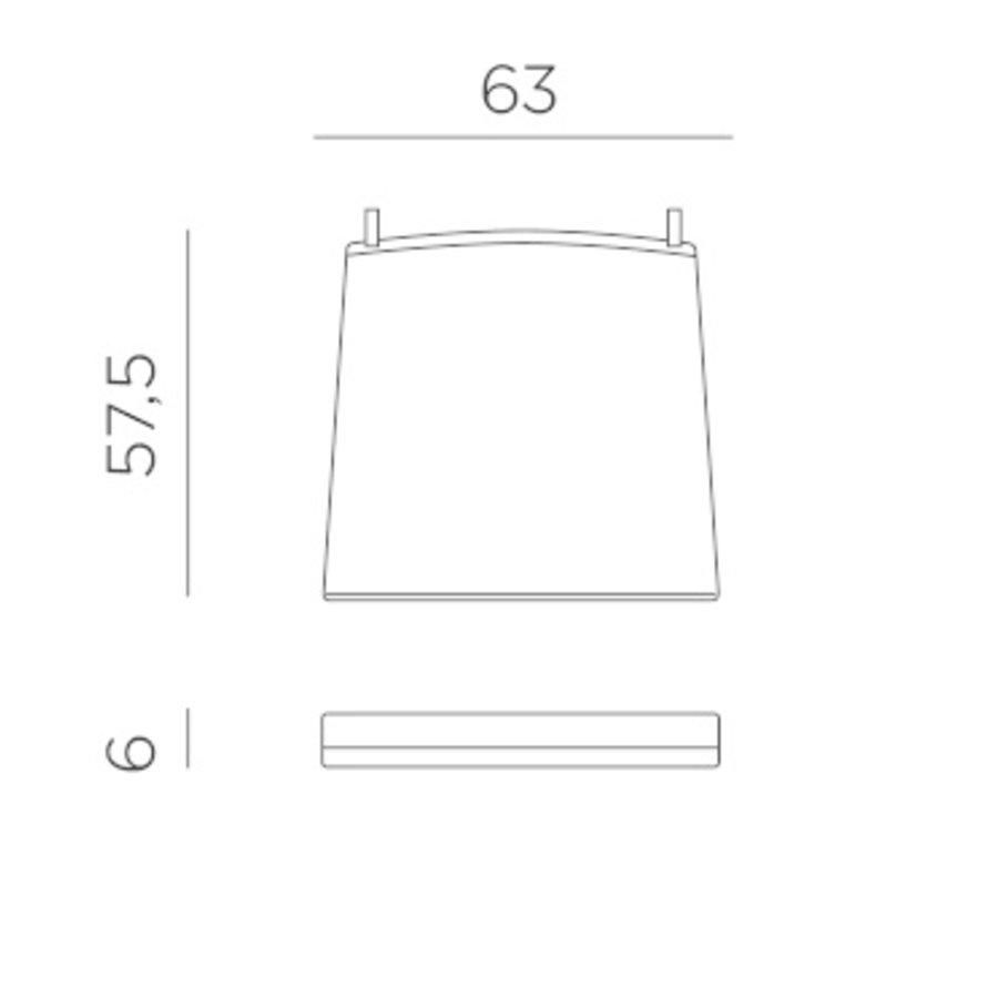 Lounge Tuinstoel - Aria - Bianco - Grijs - Sunbrella - Nardi-8