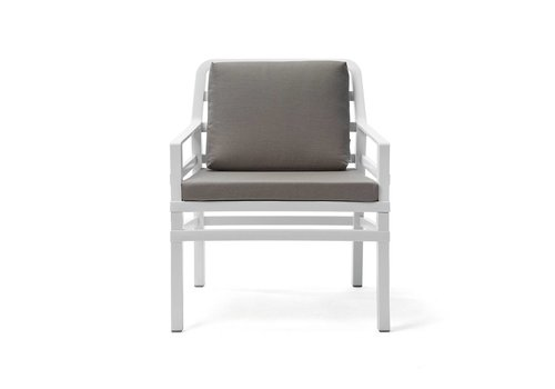 Lounge Tuinstoel - Aria - Bianco - Grijs - Sunbrella - Nardi
