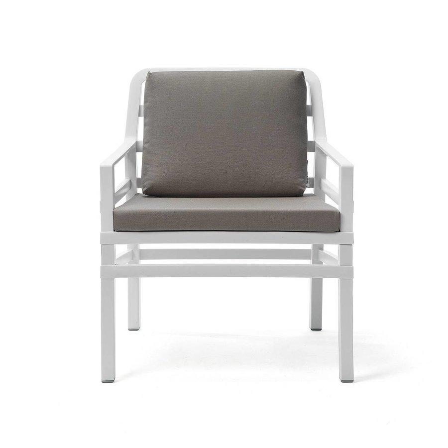 Lounge Tuinstoel - Aria - Bianco - Grijs - Sunbrella - Nardi-2