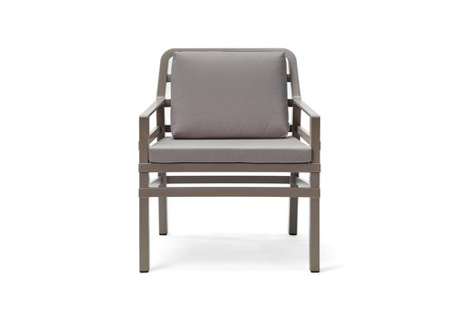 Lounge Tuinstoel - Aria - Tortora - Grijs - Nardi