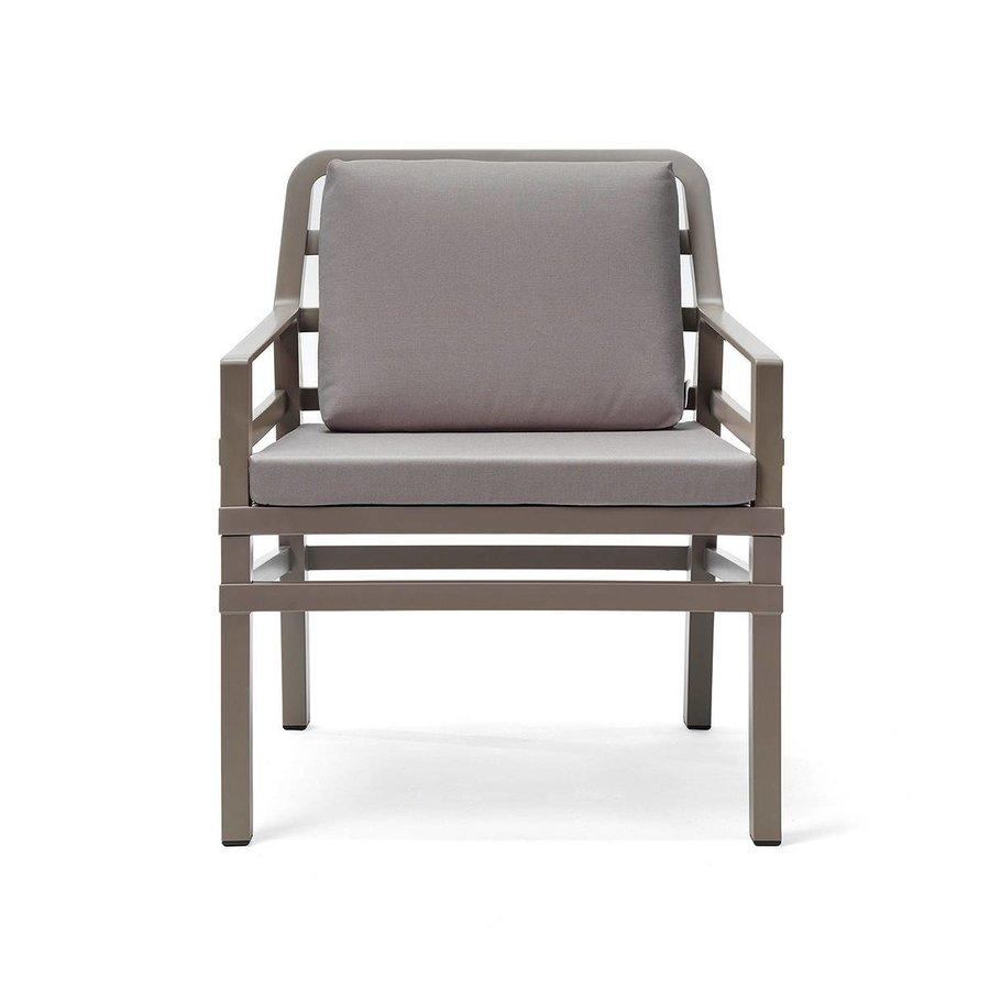 Lounge Tuinstoel - Aria - Tortora - Grijs - Nardi-1