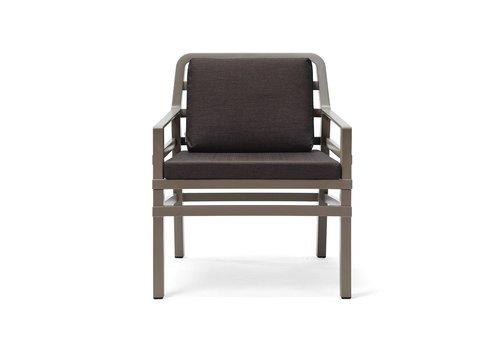 Lounge Tuinstoel - Aria - Tortora - Koffie Bruin - Nardi
