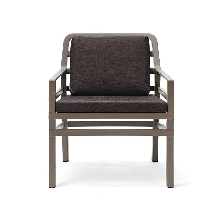 Lounge Tuinstoel - Aria - Tortora - Koffie Bruin - Nardi-1