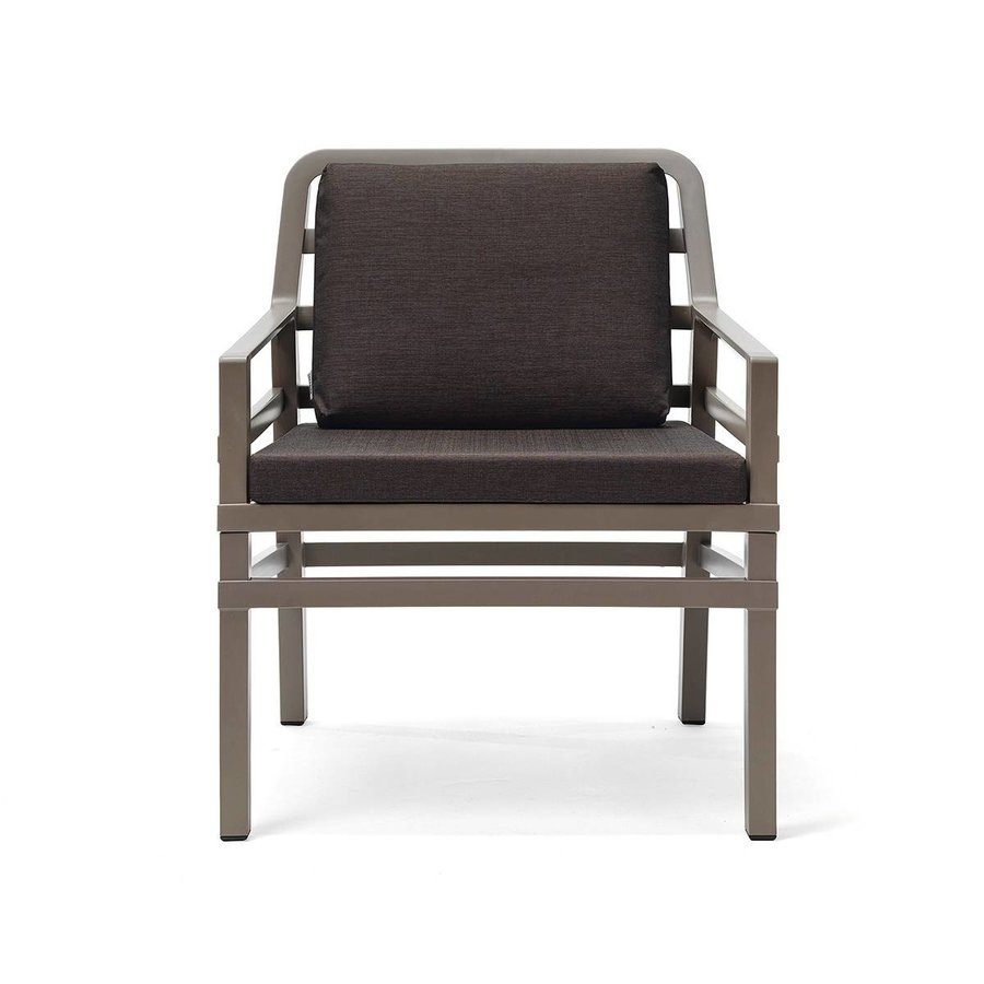 Lounge Tuinstoel - Aria - Tortora - Koffie Bruin - Nardi-2