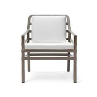 Lounge Tuinstoel - Aria - Tortora - Wit - Nardi