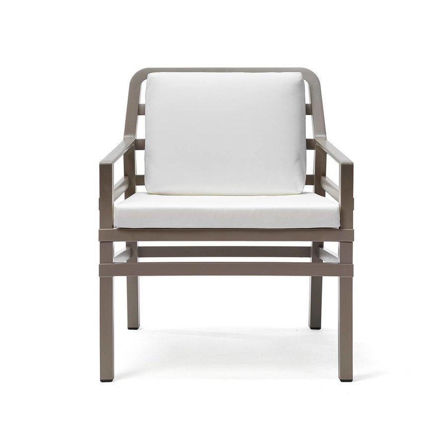 Lounge Tuinstoel - Aria - Tortora - Wit - Nardi-2