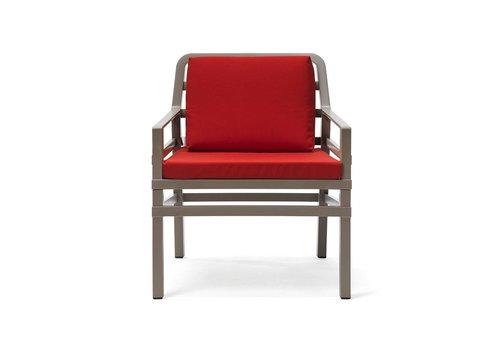 Lounge Tuinstoel - Aria - Tortora - Cherry - Rood - Nardi