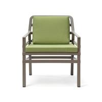thumb-Lounge Tuinstoel - Aria - Tortora - Lime - Groen - Nardi-1