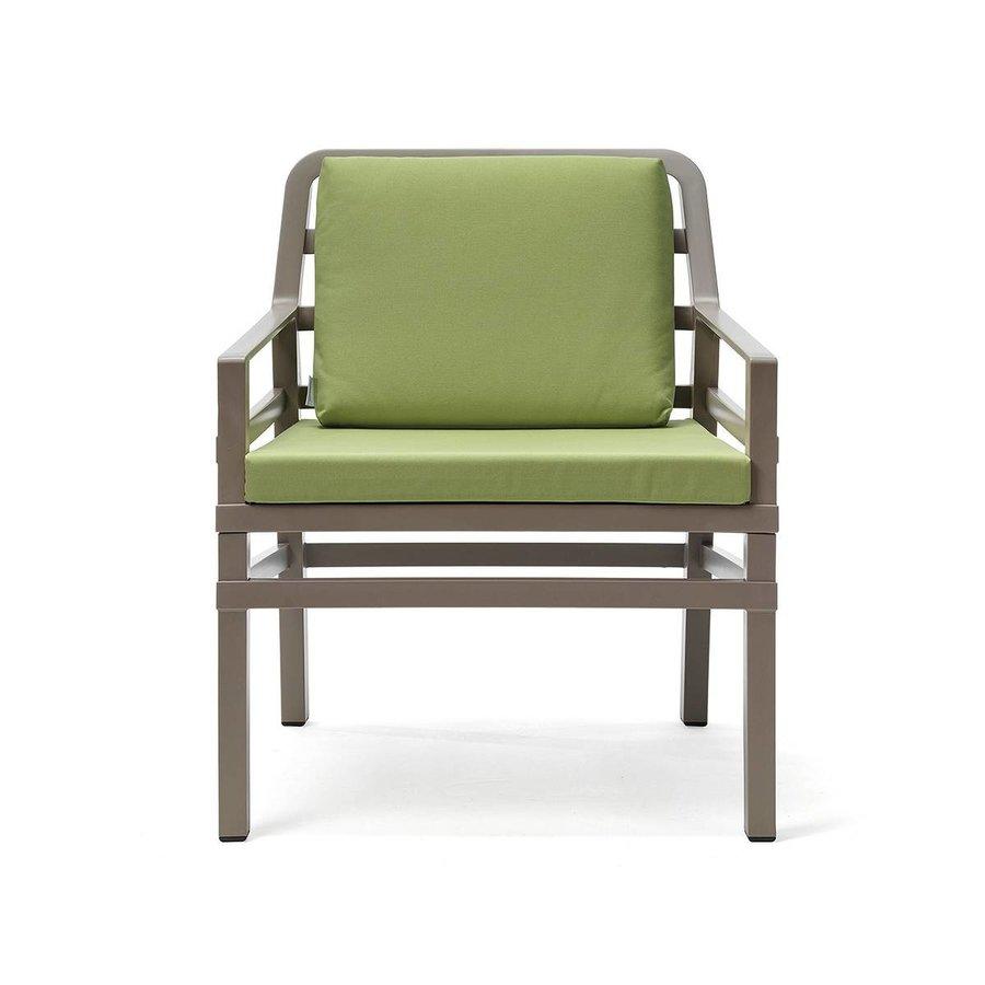 Lounge Tuinstoel - Aria - Tortora - Lime - Groen - Nardi-1