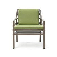 thumb-Lounge Tuinstoel - Aria - Tortora - Lime - Groen - Nardi-2