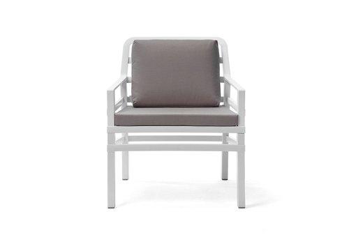 Lounge Tuinstoel - Aria - Bianco - Grijs - Nardi