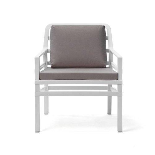 Nardi Lounge Tuinstoel - Aria - Bianco - Grijs - Nardi
