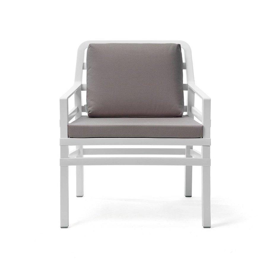 Lounge Tuinstoel - Aria - Bianco - Grijs - Nardi-2