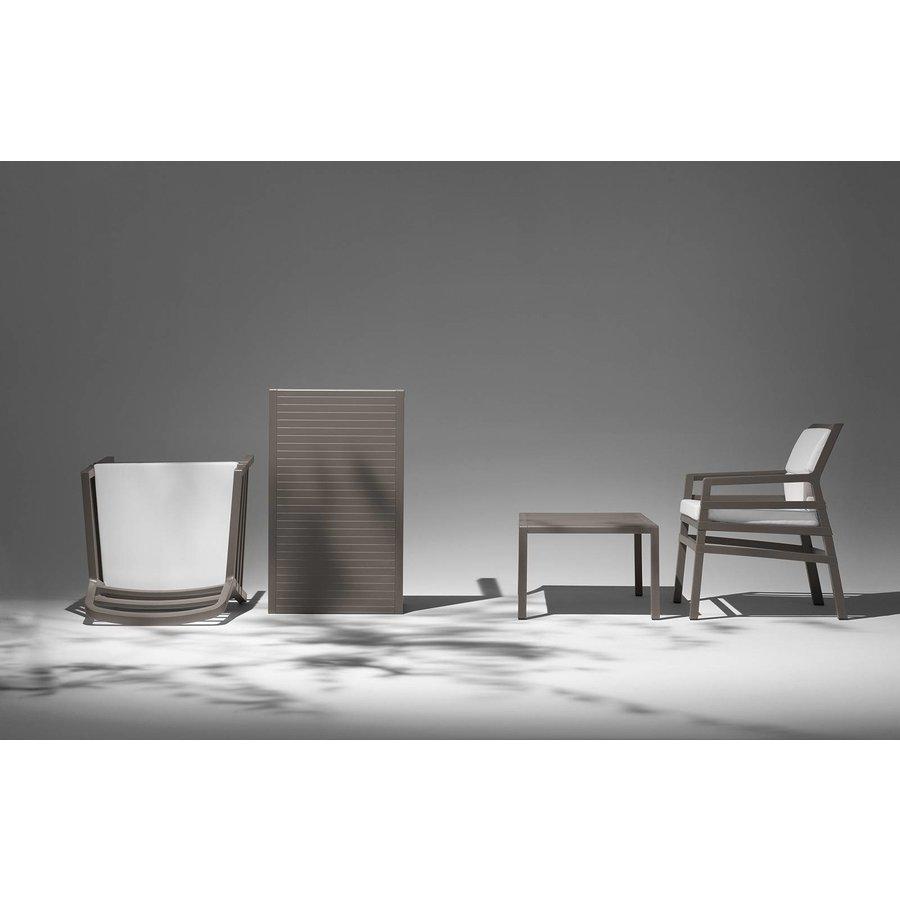 Lounge Tuinstoel - Aria - Bianco - Koffie Bruin - Nardi-4