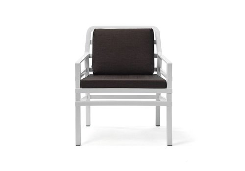 Lounge Tuinstoel - Aria - Bianco - Koffie Bruin - Nardi