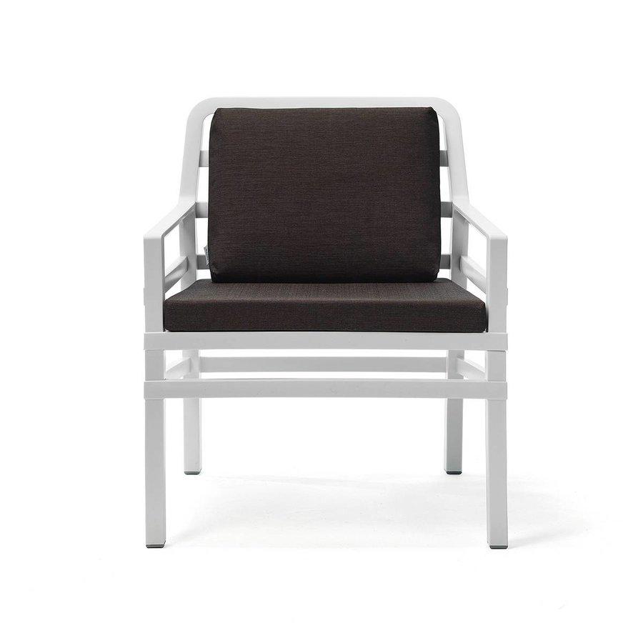 Lounge Tuinstoel - Aria - Bianco - Koffie Bruin - Nardi-1