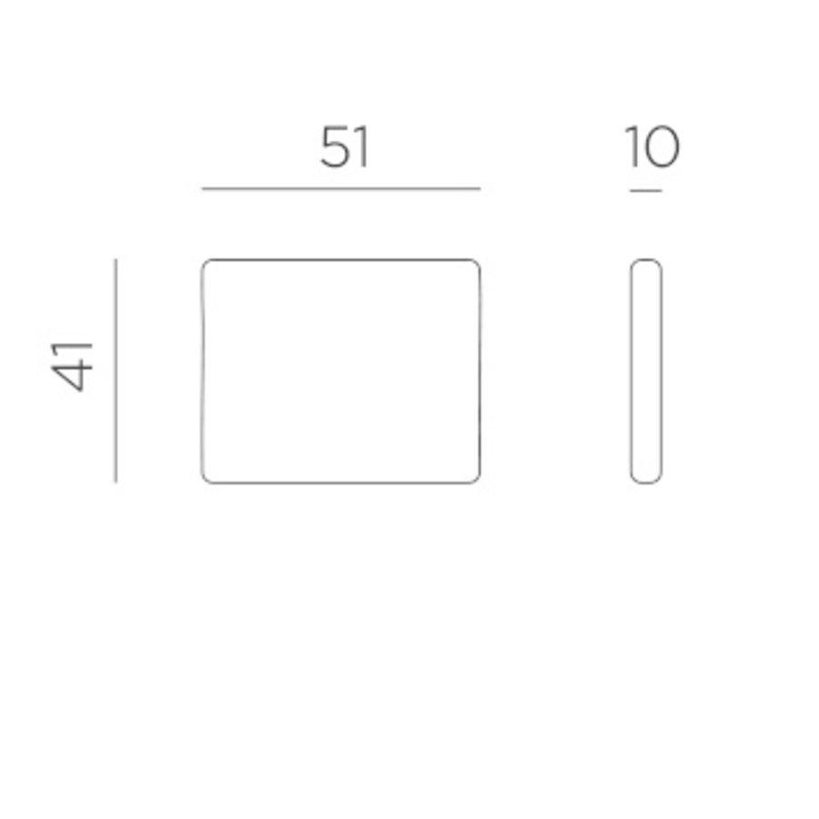 Lounge Tuinstoel - Aria - Bianco - Wit - Nardi-9
