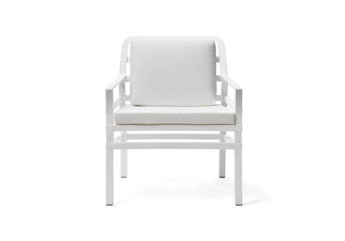 Lounge Tuinstoel - Aria - Bianco - Wit - Nardi