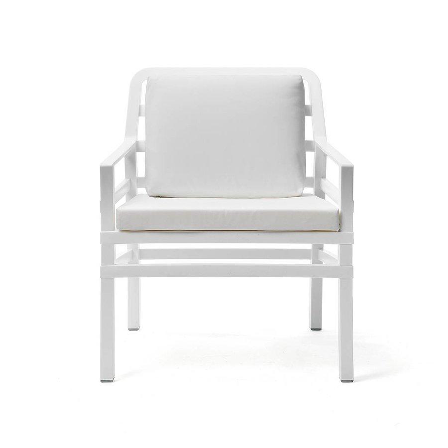 Lounge Tuinstoel - Aria - Bianco - Wit - Nardi-1